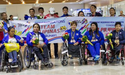 Tiebreaker Times Mobile donation service launched to support the Filipino para-athlete News Sports UAAP  UAAP Season 80 Rebo Saguisag Mike Barredo Adeline Dumapong-Ancheta 5th ASEAN Paralympic Games