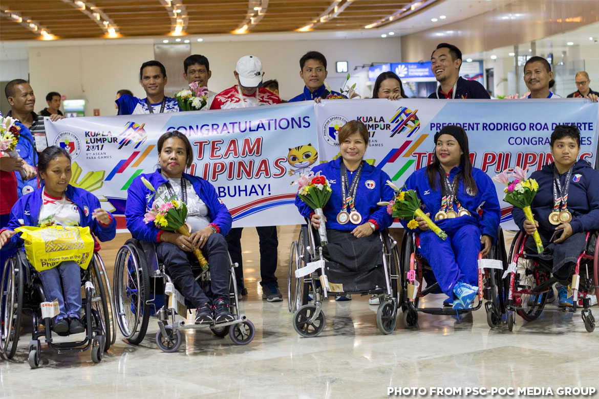 Philippine Sports News - Tiebreaker Times Mobile donation service launched to support the Filipino para-athlete News Sports UAAP  UAAP Season 80 Rebo Saguisag Mike Barredo Adeline Dumapong-Ancheta 5th ASEAN Paralympic Games