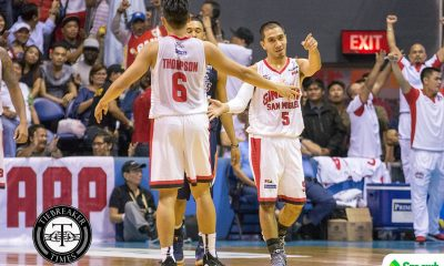Tiebreaker Times LA Tenorio more concerned with RDO's health than Ironman streak Basketball News PBA  PBA Season 44 LA Tenorio Barangay Ginebra San Miguel 2019 PBA Philippine Cup