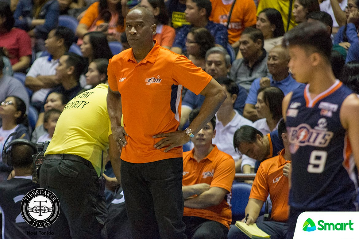 Tiebreaker Times Having right personnel doing wonders for Ginebra, says Meralco's Norman Black Basketball News PBA  PBA Season 43 Norman Black Meralco Bolts 2018 PBA Commissioners Cup
