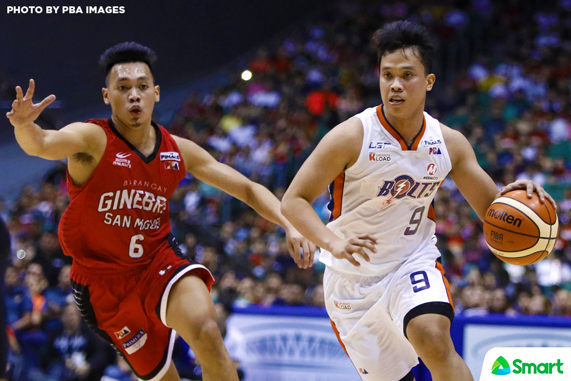 Philippine Sports News - Tiebreaker Times Norman Black rues lack of production from Newsome, Amer in Game 5 loss Basketball News PBA  PBA Season 42 Meralco Bolts Chris Newsome Baser Amer 2017 PBA Governors Cup