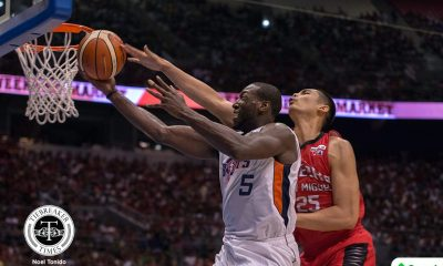 Tiebreaker Times Despite falling short once more, it was still worth it for Allen Durham Basketball News PBA  PBA Season 42 Meralco Bolts Allen Durham 2017 PBA Governors Cup