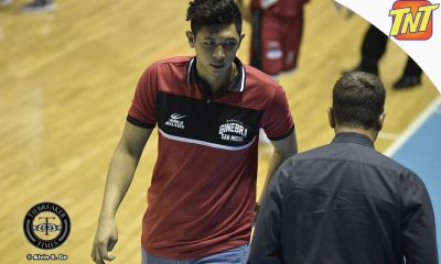 Tiebreaker Times Kevin Ferrer looks to return to Ginebra by Game 3 Basketball News PBA  PBA Season 42 Kevin Ferrer Barangay Ginebra San Miguel 2017 PBA Governors Cup