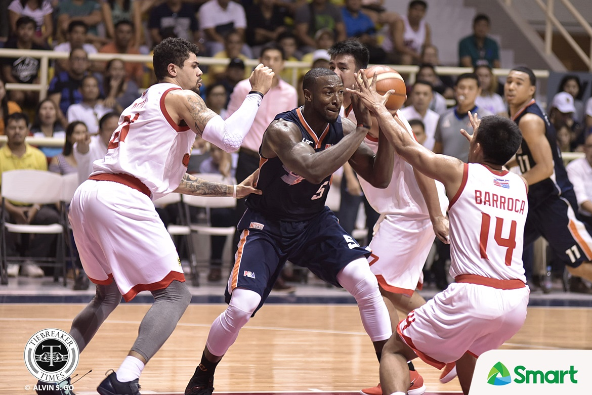 Philippine Sports News - Tiebreaker Times Allen Durham and Meralco planning to finish off Star in Game 3 Basketball News PBA  PBA Season 42 Meralco Bolts Allen Durham 2017 PBA Governors Cup