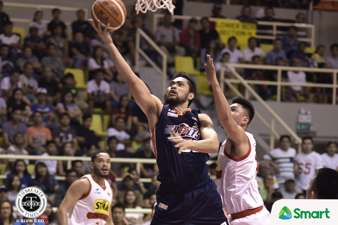 Philippine Sports News - Tiebreaker Times Meralco thrashes Star for 2-0 lead Basketball News PBA  Star Hotshots Ranidel De Ocampo PBA Season 42 Norman Black Mon Abundo Meralco Bolts Mark Barroca Jared Dillinger Chito Victolero Baser Amer Allen Durham 2017 PBA Governors Cup