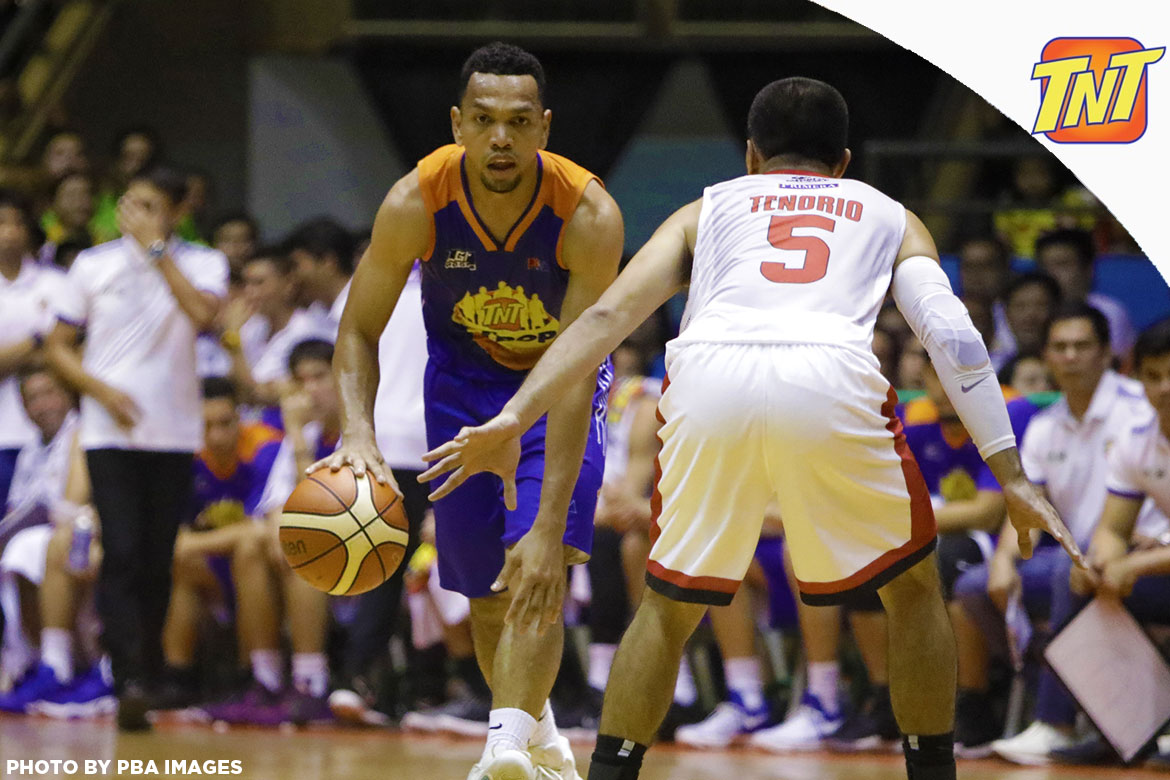 Tiebreaker Times LOOK: Ginebra, TNT to raise PBA Season 44 curtains Basketball News PBA  TNT Katropa PBA Season 44 Barangay Ginebra San Miguel 2019 PBA Philippine Cup 2018 PBA Leo Awards