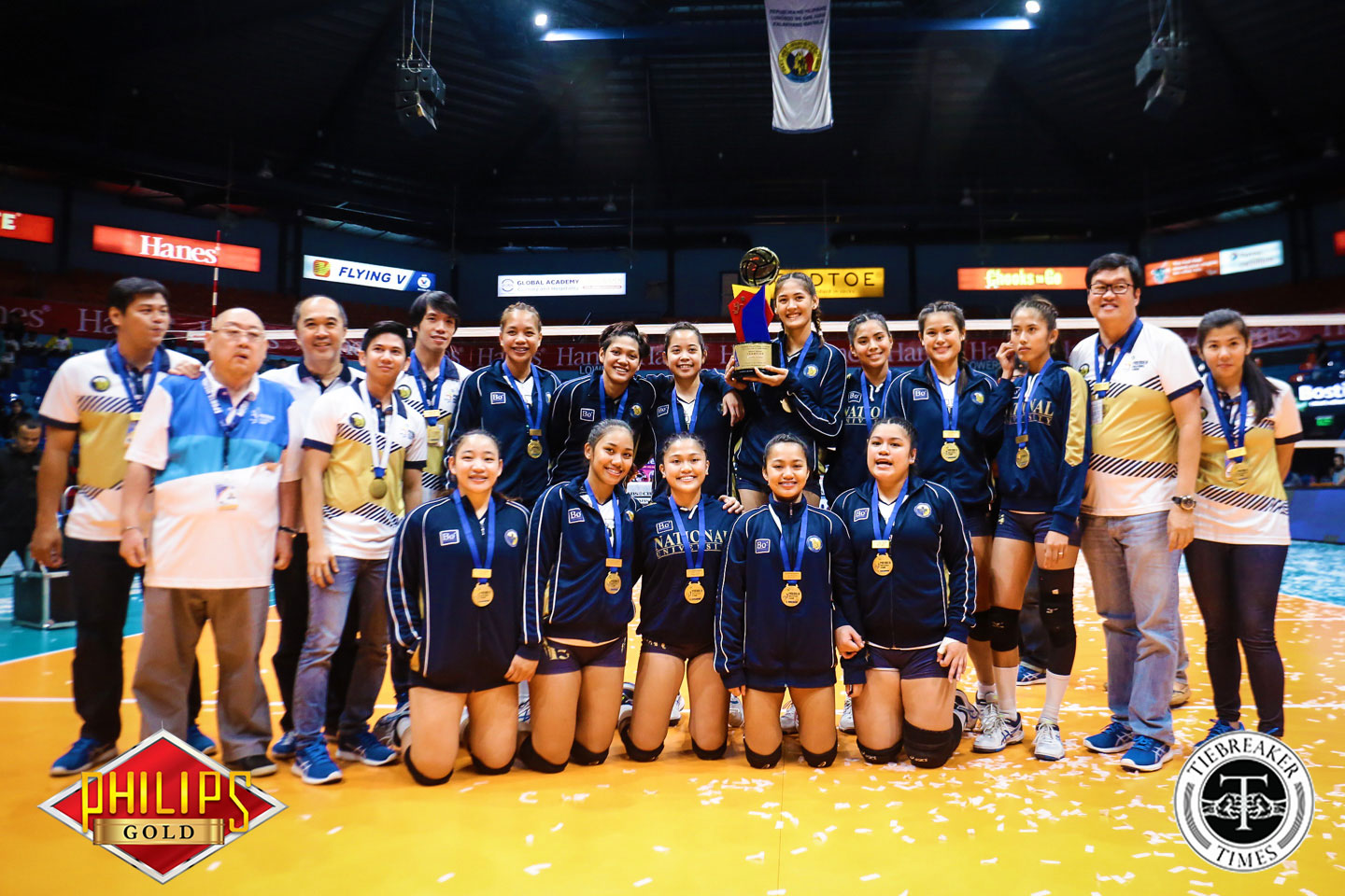 Philippine Sports News - Tiebreaker Times Lady Bulldogs sweep conference to secure third straight crown FEU News NU PVL Volleyball  NU Women's Volleyball Jorelle Singh Jasmin Nabor Jaja Santiago George Pascua Gayle Valdez FEU Women's Volleyball Babes Castillo Aiko Urdas 2017 PVL Women's Collegiate Conference 2017 PVL Season