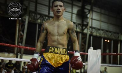 Tiebreaker Times Michael Dasmariñas KOs Thai foe, impresses in Singapore Boxing News  Ringside Promotions Michael Dasmarinas