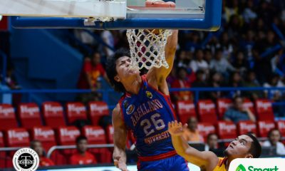 Tiebreaker Times Arellano cruises past Mapua to enter playoffs AU Basketball MIT NCAA News  Zach Nicholls NCAA Season 93 Seniors Basketball NCAA Season 93 Mapua Seniors Basketball Levi dela Cruz Lervin Flores Jerry Codinera Christian Bunag Atoy Co Arellano Seniors Basketball