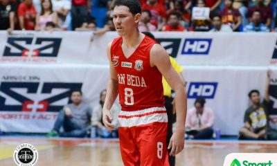Tiebreaker Times Robert Bolick drops 50 as San Beda bounces back AU Basketball NCAA News SBC  San Beda Seniors Basketball Robert Bolick NCAA Season 94 Seniors Basketball NCAA Season 94 Michael Canete Levi dela Cruz Jerry Codinera Javee Mocon Donald Tankoua Boyet Fernandez Arellano Seniors Basketball