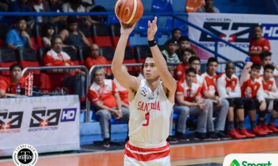 Tiebreaker Times San Beda opens title-retention bid with win over NU; Mapua scores huge upset of UP AU Basketball CSJL FEU MIT News NU SBC UP UST  UST Men's Basketball UP Men's Basketball San Beda Seniors Basketball Renzo Subido Olsen Racela NU Men's Basketball Mauie Sera Josef Mapua Seniors Basketball Letran Seniors Basketball John Lloyd Clemente Jerry Codinera Jeff Napa Javee Mocon Jamike Jarin Hubert Cani FEU Men's Basketball Exe Biteng Bright Akhuetie Boyet Fernandez Bong Quinto Bo Perasol Atoy Co Arellano Seniors Basketball Aldin Ayo 2018 Filoil Premier Cup