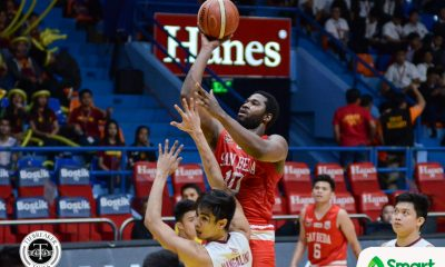Tiebreaker Times San Beda cruises to 6-0, deals Perpetual 46-point rout Basketball NCAA News UPHSD  Tonton Peralta San Beda Seniors Basketball Perpetual Seniors Basketball NCAA Season 95 Seniors Basketball NCAA Season 95 James Kwukuteye James Canlas Frankie Lim Evan Nelle Edgar Charcos Donald Tankoua Clint Doliguez Boyet Fernandez Ben Adamos AC Soberano