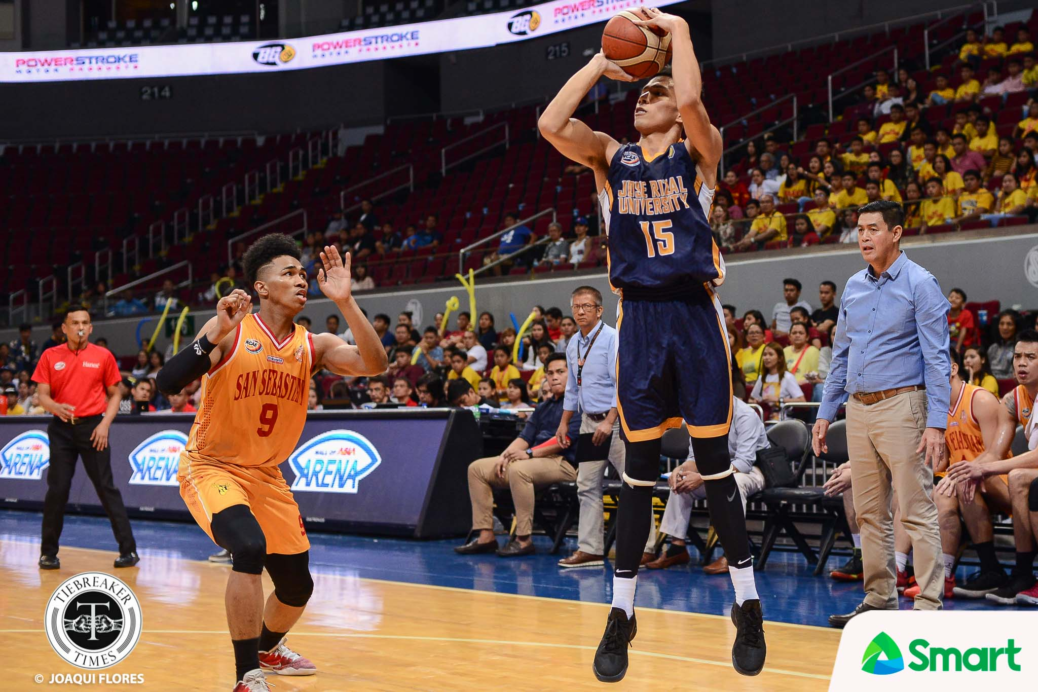 Philippine Sports News - Tiebreaker Times Emotional Ervin Grospe hoped to have one more game with JRU after PBA Draft Basketball JRU NCAA News PBA  PBA Season 43 NCAA Season 93 Seniors Basketball NCAA Season 93 JRU Seniors Basketball Ervin Grospe 2017 PBA Draft
