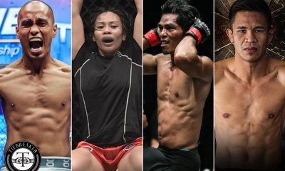 Tiebreaker Times Four Filipinos to compete in ONE: Hero's Dream Mixed Martial Arts News ONE Championship  ONE: Hero's Dream Jomary Torres Jeremy Miado Eugene Toquero Burn Soriano