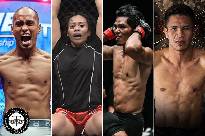 Tiebreaker Times Four Filipinos to compete in ONE: Hero's Dream Mixed Martial Arts News ONE Championship  ONE: Hero's Dream Jomary Torres Jeremy Miado Eugene Toquero Burn Soriano