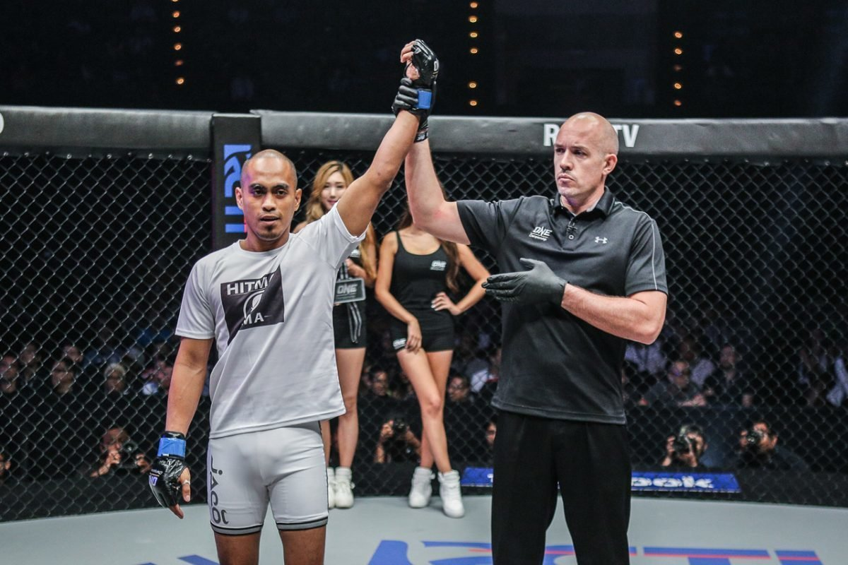Philippine Sports News - Tiebreaker Times ​​Change of scenery rejuvenates Burn Soriano Mixed Martial Arts News ONE Championship  ONE: Hero's Dream Burn Soriano
