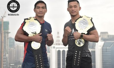Tiebreaker Times Calm before the storm as Folayang, Nguyen face off for the first time Mixed Martial Arts News ONE Championship  Team Lakay ONE: Legends of the World Martin Nguyen Eduard Folayang