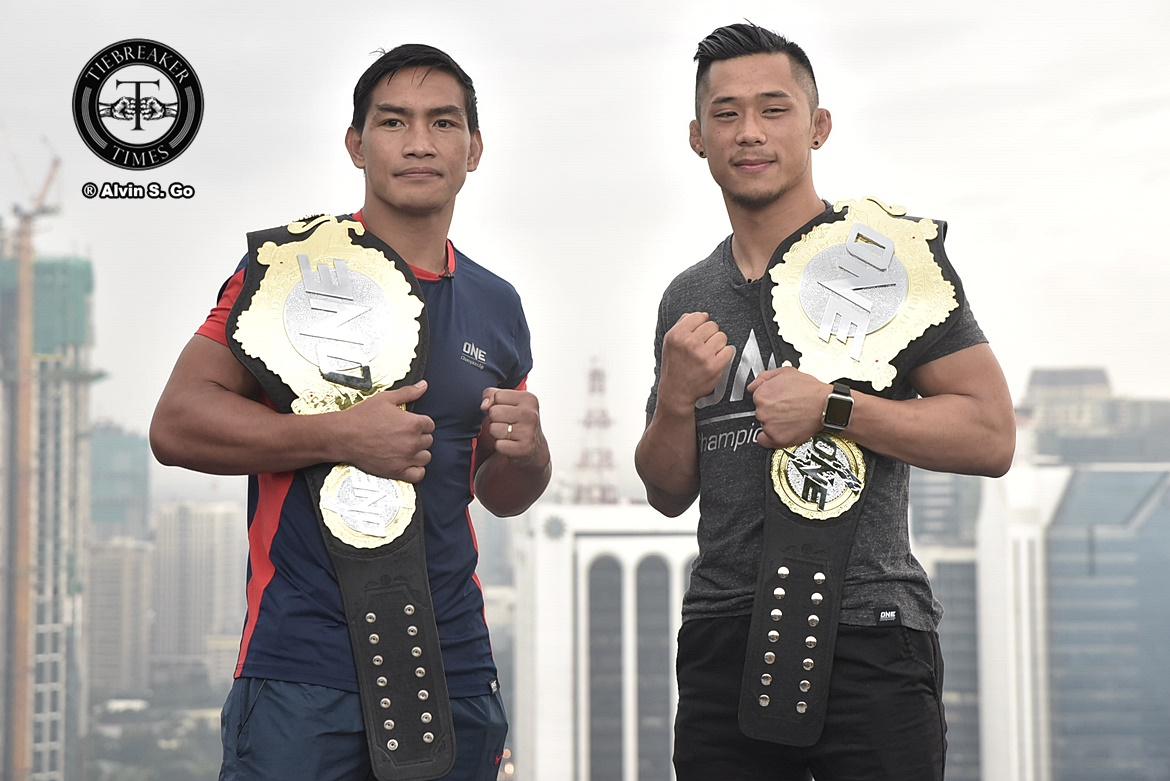 Philippine Sports News - Tiebreaker Times Calm before the storm as Folayang, Nguyen face off for the first time Mixed Martial Arts News ONE Championship  Team Lakay ONE: Legends of the World Martin Nguyen Eduard Folayang