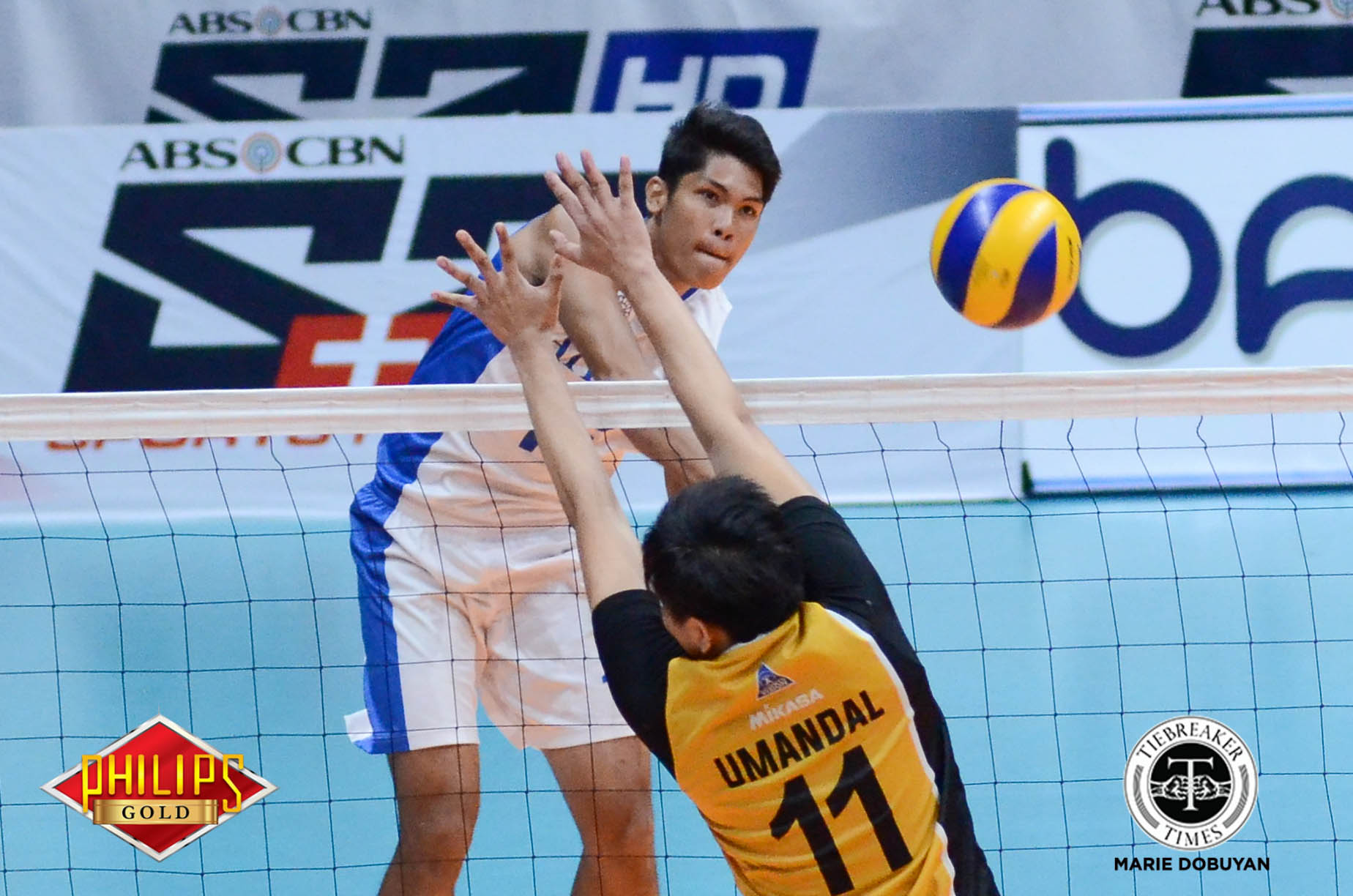 Tiebreaker Times Blue Eagles recover from historic loss, barge into third straight Finals ADMU News PVL UST Volleyball  UST Women's Volleyball Oliver Almadro Odjie Mamon Marck Espejo Manuel Sumanguid MAnuel Medina Josh Umandal Ish Polvorosa Gian Glorioso Ateneo Men's Volleyball 2017 PVL Season 2017 PVL Men's Collegiate Conference