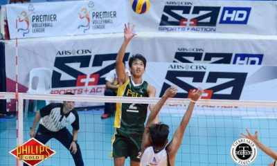 Tiebreaker Times Tamaraws continue mastery over Bulldogs, move one win away from Finals FEU News NU PVL Volleyball  Rikko Marmeto Richard Solis Rey Diaz Redijohn Paler NU Men's Volleyball Kris Silang FEU Men's Volleyball Fauzi Ismail Dante Alinsunurin Bryan Bagunas 2017 PVL Season 2017 PVL Men's Collegiate Conference