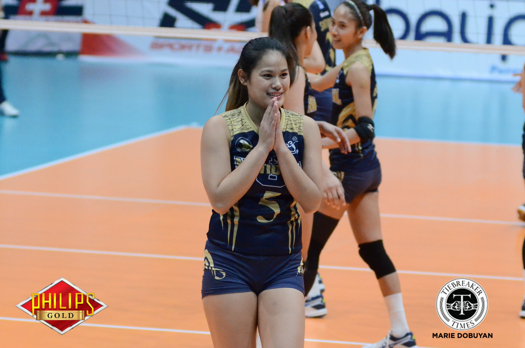 Tiebreaker Times Risa Sato only has eyes set on one thing for NU: 'Champion' News NU UAAP Volleyball  UAAP Season 82 Women's Volleyball UAAP Season 82 Risa Sato NU Women's Volleyball