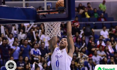 Tiebreaker Times Thirdy Ravena, Blue Eagles not blinded by 8-0 record: 'We can't be complacent' ADMU Basketball News UAAP  UAAP Season 80 Men's Basketball UAAP Season 80 Thirdy Ravena Sandy Arespacochaga Ateneo Men's Basketball
