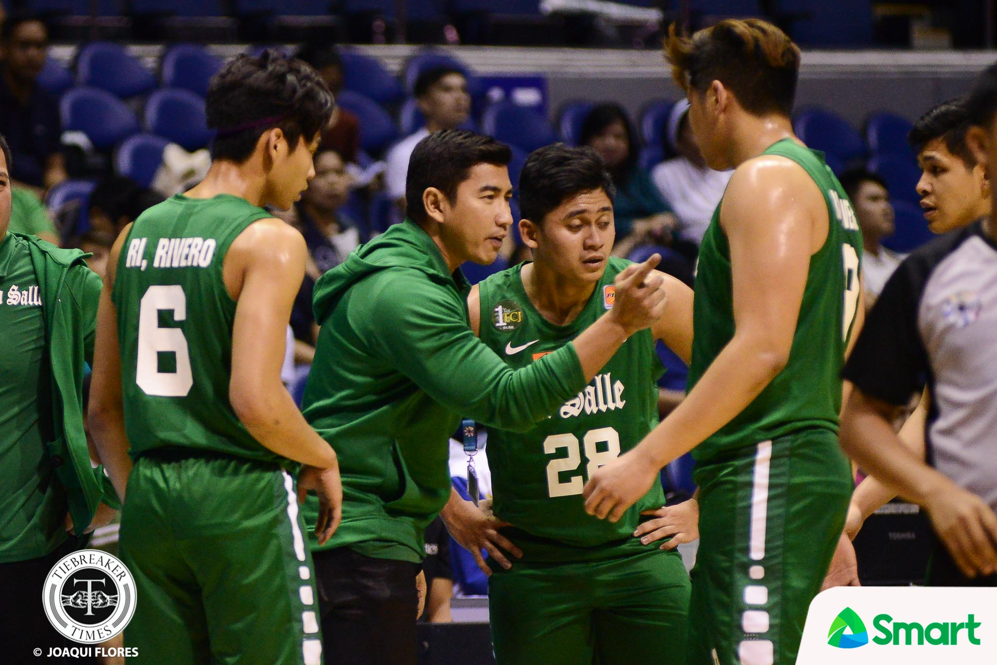 Philippine Sports News - Tiebreaker Times La Salle formally appoints Louie Gonzalez as Green Archers head coach Basketball DLSU News UAAP  UAAP Season 81 Men's Basketball UAAP Season 81 Louie Gonzalez DLSU Men's Basketball Aldin Ayo