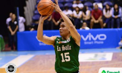 Tiebreaker Times Kib Montalbo takes over as La Salle rallies back against Chinese-Taipei selection Basketball DLSU News  Taane Samuel Louie Gonzalez Kib Montalbo Justine Baltazar Jollo Go DLSU Men's Basketball 2018 Asia-Pacific Basketball Challenge