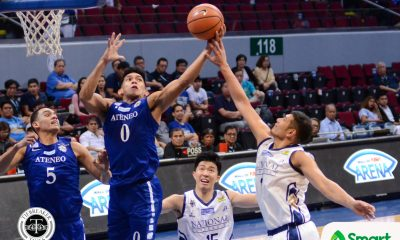 Tiebreaker Times Thirdy Ravena holds no grudge against Dave Yu: 'I had to take it like a man' ADMU Basketball News NU UAAP  UAAP Season 80 Men's Basketball UAAP Season 80 NU Men's Basketball Dave Yu Ateneo Men's Basketball
