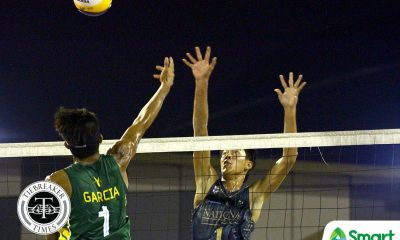 Tiebreaker Times NU overpowers Adamson for 4-0 start; UST bounces back at Ateneo's expense ADMU AdU Beach Volleyball DLSU FEU News NU UAAP UE UP UST  Wendel Miguel UST Men's Volleyball UP Men's Volleyball UE Men's Volleyball UAAP Season 80 Men's Beach Volleyball UAAP Season 80 Richard Solis NU Men's Volleyball Niccolo Consuelo Kris Roy Guzman Jude Garcia James Natividad FEU Men's Volleyball DLSU Men's Volleyball Bryan Bagunas Ateneo Men's Volleyball Anthony Arbasto Adamson Men's Volleyball