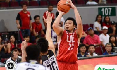 Tiebreaker Times Alvin Pasaol finds supporting cast in maiden win Basketball News UAAP UE  UE Men's Basketball UAAP Season 80 Men's Basketball UAAP Season 80 Philip Manalang Mark Olayon Derrick Pumaren Alvin Pasaol