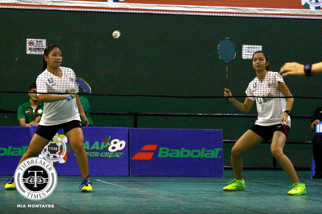 Philippine Sports News - Tiebreaker Times Lady Archers sweep Lady Warriors aside for back-to-back victory Badminton DLSU News UAAP UE  UE Women's Badminton UAAP Season 80 Women's Badminton UAAP Season 80 Nicole Albo Lindsay Tercias Iyah Sevilla Isay Leonardo DLSU Women's Badminton Arianne Rivera