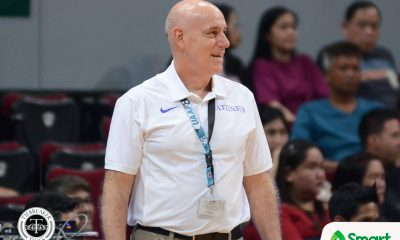 Tiebreaker Times Tab Baldwin not thinking about sweep: 'The only game that matters is the next' ADMU Basketball News UAAP  UAAP Season 80 Men's Basketball UAAP Season 80 Tab Baldwin Ateneo Men' Basketball