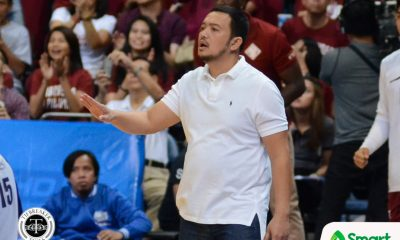 Tiebreaker Times Fighting Maroons beg off from D-League commitments Basketball News PBA D-League UP  UP Men's Basketball Paul Desiderio Jerson Prado Javi Gomez de Liano Diego Dario Bo Perasol 2018 PBA D-League Season 2017 PBA D-League Draft