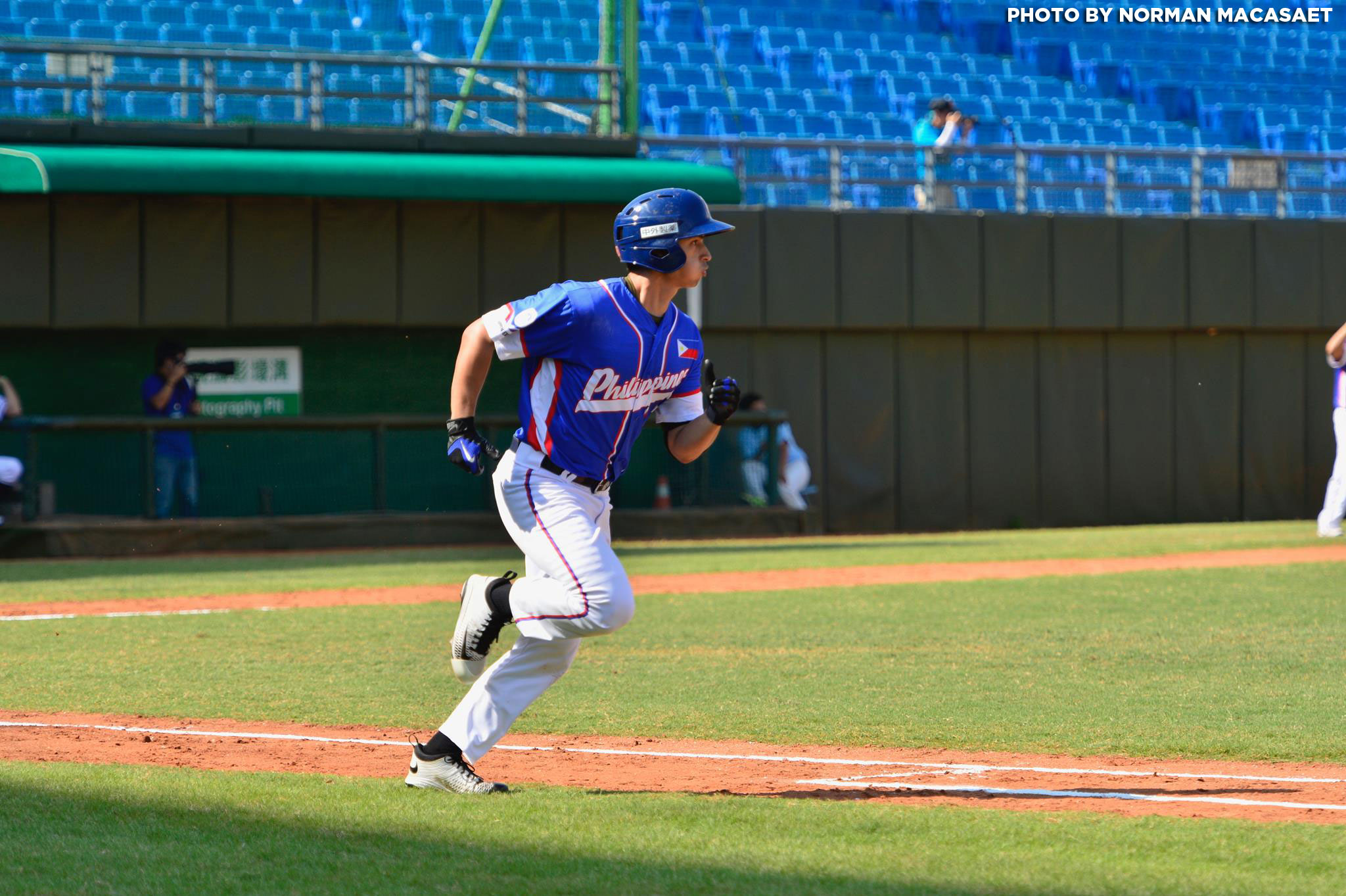 Tiebreaker Times Carlos Munoz has 4 RBI as Philippine pitchers shutout Hong Kong to advance to semis Baseball News  Jonash Ponce Jon-Jon Robles Javi Macasaet Egay delos Reyes Carlos Munoz Aids Bernardo 2017 Asian Baseball Championship