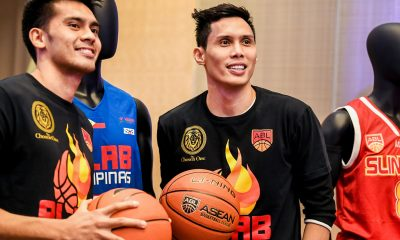 Tiebreaker Times Dondon Hontiveros excited to work with Danny Seigle again ABL Alab Pilipinas Basketball News  Dondon Hontiveros Danny Seigle 2017-18 ABL Season