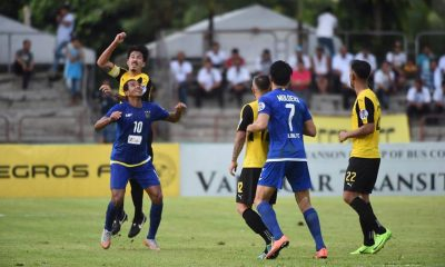 Tiebreaker Times First half show helps Global drag Ceres to second seed Football News PFL  Rufo Sanchez Risto Vidakovic Patrick Deyto Misagh Bahadoran Louie Casas Global-Cebu FC Global Ceres-Negros FC Akbar Nawas 2017 PFL Season