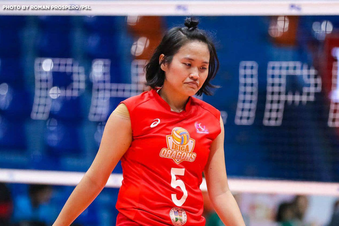 Philippine Sports News - Tiebreaker Times PSL team owners deny Iriga City's appeal News PSL Volleyball  Iriga City Lady Oragons Grethcel Soltones 2017 PSL Season 2017 PSL Grand Prix