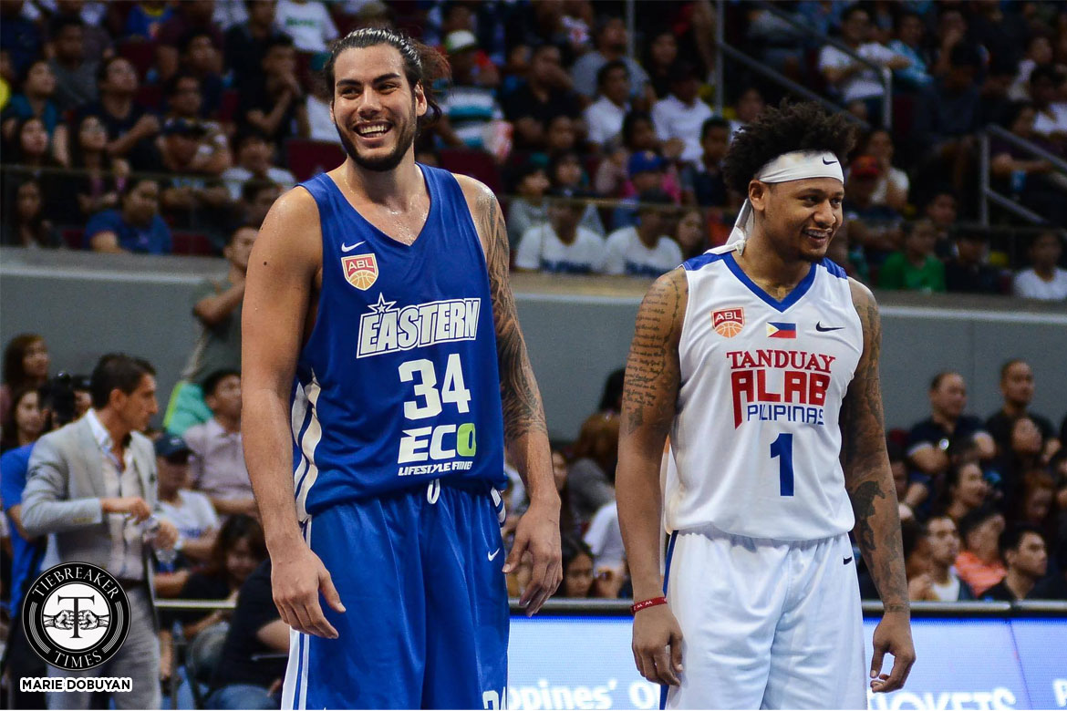 Philippine Sports News - Tiebreaker Times Christian Standhardinger wishes SMART Gilas brothers best of luck in WCQ 2019 FIBA World Cup Qualifiers Basketball Gilas Pilipinas News  Hong Kong Eastern Long Lions Christian Standhardinger 2019 FIBA World Cup Qualifiers Group B 2017-18 ABL Season