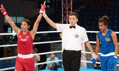 Tiebreaker Times Aira Villegas lone Filipina left fighting in Asian Women's Boxing Championships Boxing News  Roel Velasco Nesthy Petecio Judelyn Casin Aira Villegas 2017 Asian Women's Boxing Championships