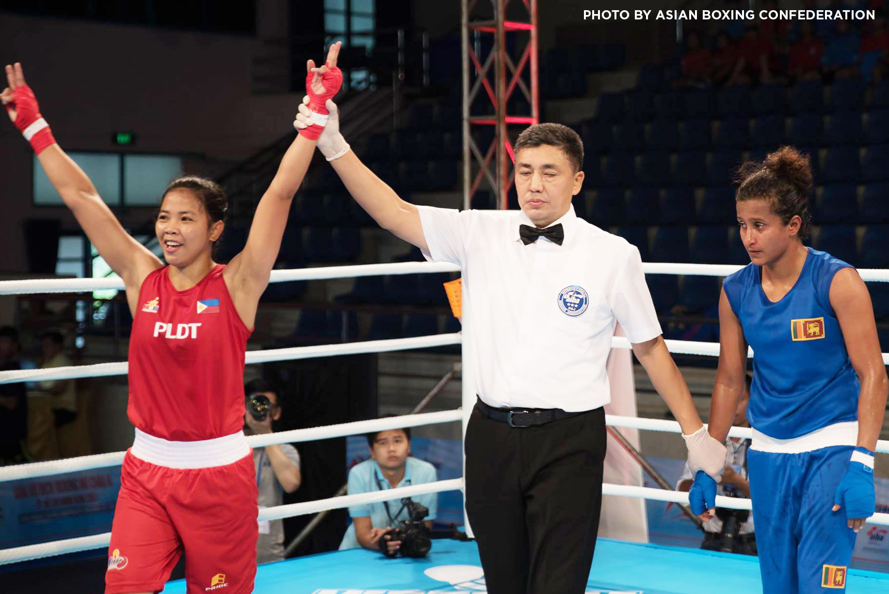 Aira Villegas lone Filipina left fighting in Asian Women's ...