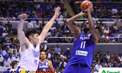 Tiebreaker Times Gilas still sticking with Andray Blatche, says team manager Butch Antonio Basketball Gilas Pilipinas News  Butch Antonio Andray Blatche 2019 FIBA World Cup Qualifiers Group B 2019 FIBA World Cup Qualifiers