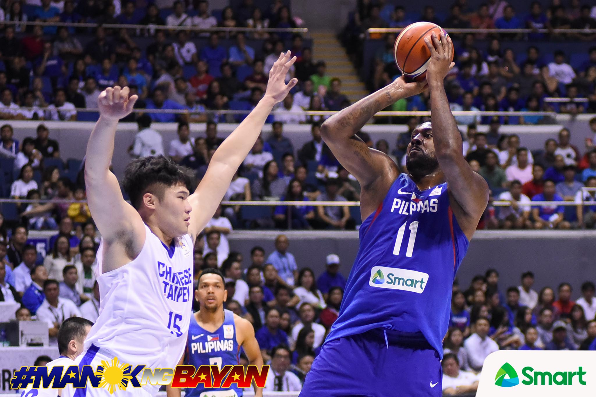 Philippine Sports News - Tiebreaker Times Gilas still sticking with Andray Blatche, says team manager Butch Antonio Basketball Gilas Pilipinas News  Butch Antonio Andray Blatche 2019 FIBA World Cup Qualifiers Group B 2019 FIBA World Cup Qualifiers