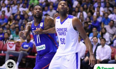 Tiebreaker Times Quincy Davis III shoulders blame in loss: 'My defensive fouls really cost me and the team' 2019 FIBA World Cup Qualifiers Basketball News  Quincy Davis III Chinese-Taipei (Basketball) 2019 FIBA World Cup Qualifiers Group B
