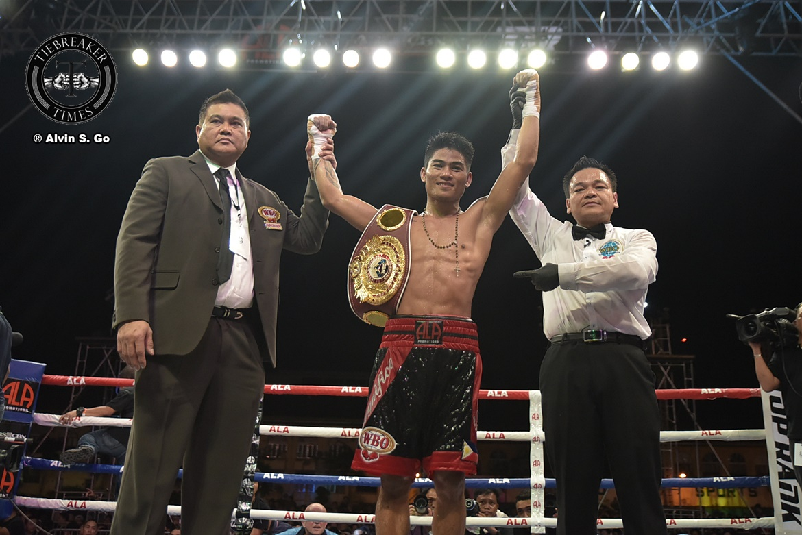 Philippine Sports News - Tiebreaker Times Mark Magsayo out to prove worth in hopes of world title opportunity Boxing News  Mark Magsayo ALA Promotions