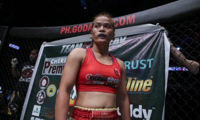 Tiebreaker Times Gina Iniong hopes familial sacrifice pays off in SEA Games 2019 SEA Games Kickboxing News ONE Championship  Team Lakay Gina Iniong 2019 SEA Games - Kickboxing 2019 SEA Games