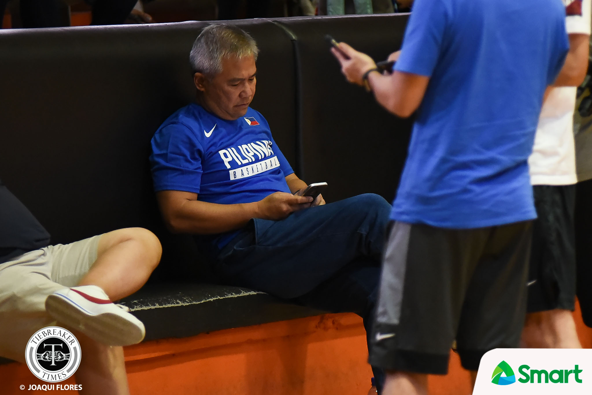 Philippine Sports News - Tiebreaker Times Chot Reyes disappointed with SMART Gilas' dismal tune-up with Alab 2019 FIBA World Cup Qualifiers Basketball Gilas Pilipinas News  Chot Reyes 2019 FIBA World Cup Qualifiers Group B