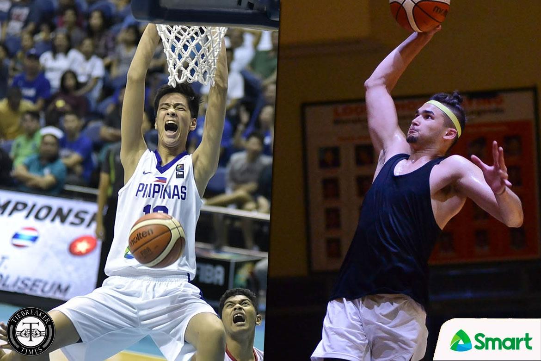 Philippine Sports News - Tiebreaker Times Kai Sotto should hone skills in US, says Kobe Paras ADMU Basketball News UAAP  UAAP Season 80 Kobe Paras Kai Sotto