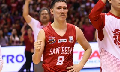 Tiebreaker Times San Beda overwhelmed by Sale, out of title contention Basketball News SBC  San Beda Seniors Basketball Robert Bolick Javee Mocon Boyet Fernandez AC Soberano 29th Dubai International Basketball Tournament