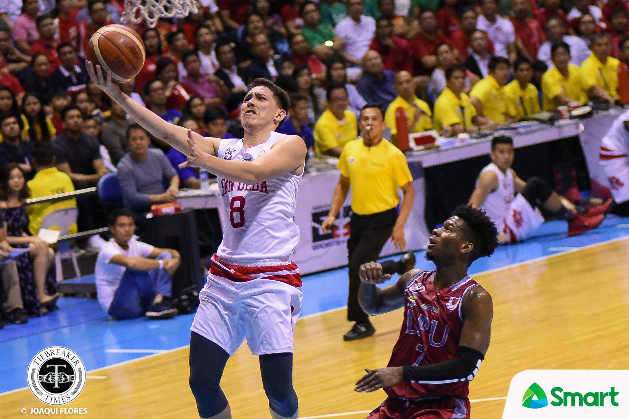 Philippine Sports News - Tiebreaker Times Aby Maraño proud to see Robert Bolick rise from benchwarmer to two-time NCAA champion Basketball NCAA News PSL SBC Volleyball  San Beda Seniors Basketball Robert Bolick NCAA Season 93 Seniors Basketball NCAA Season 93 F2 Logistics Cargo Movers Aby Marano 2017 PSL Season 2017 PSL Grand Prix